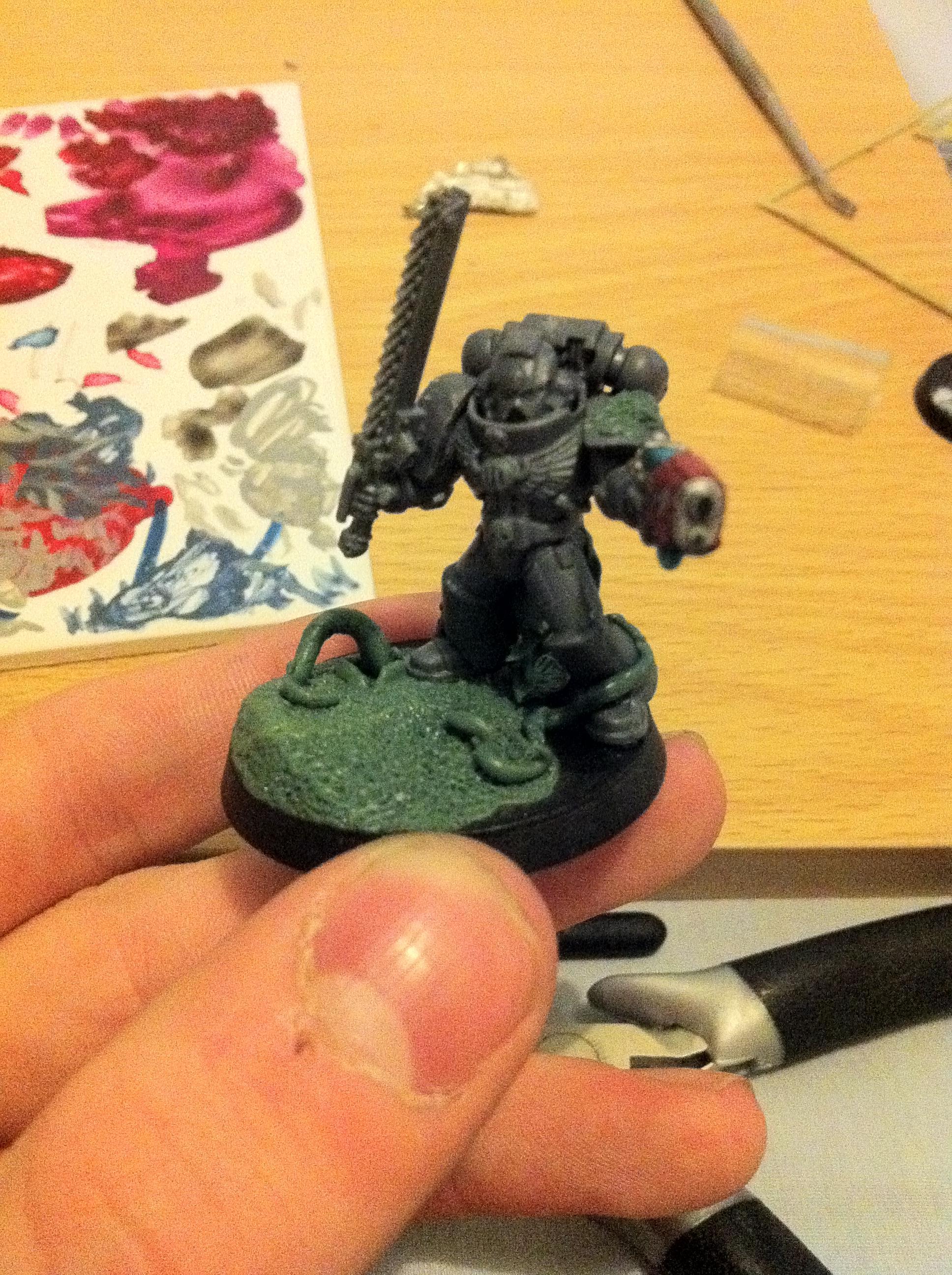 Deathwatch, Greenstuff, Killteam, Sternguard, Work In Progress