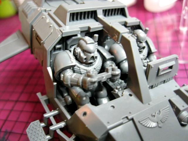 Space Marines, Warhammer 40,000, Work In Progress