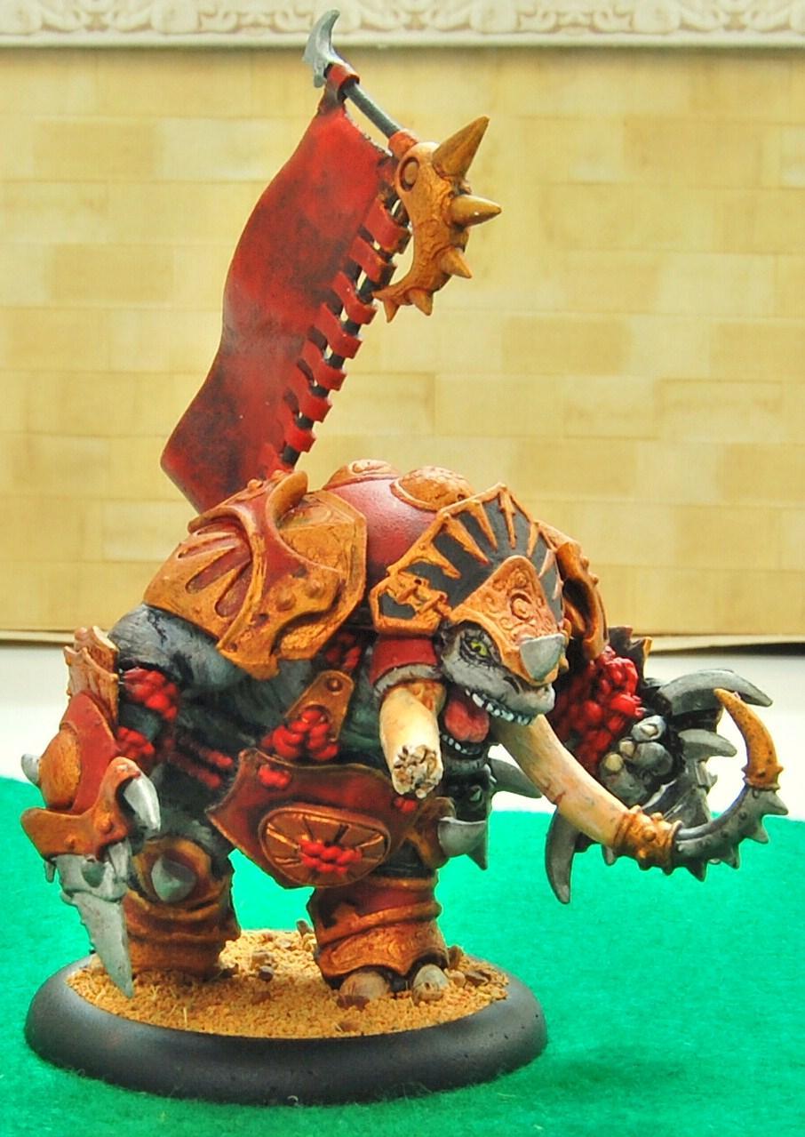 Hordes, Skorne, Titan Gladiator, Warmachine
