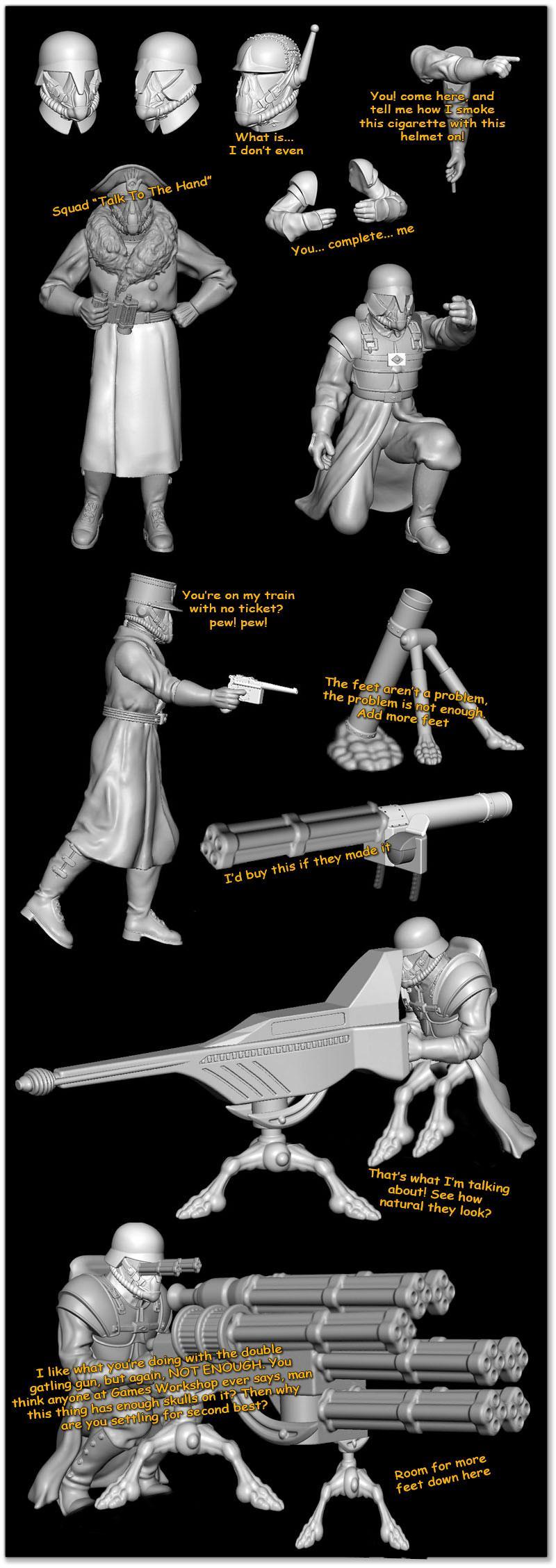 Greatcoats, Humor, Shock Troops, Wargames Factory