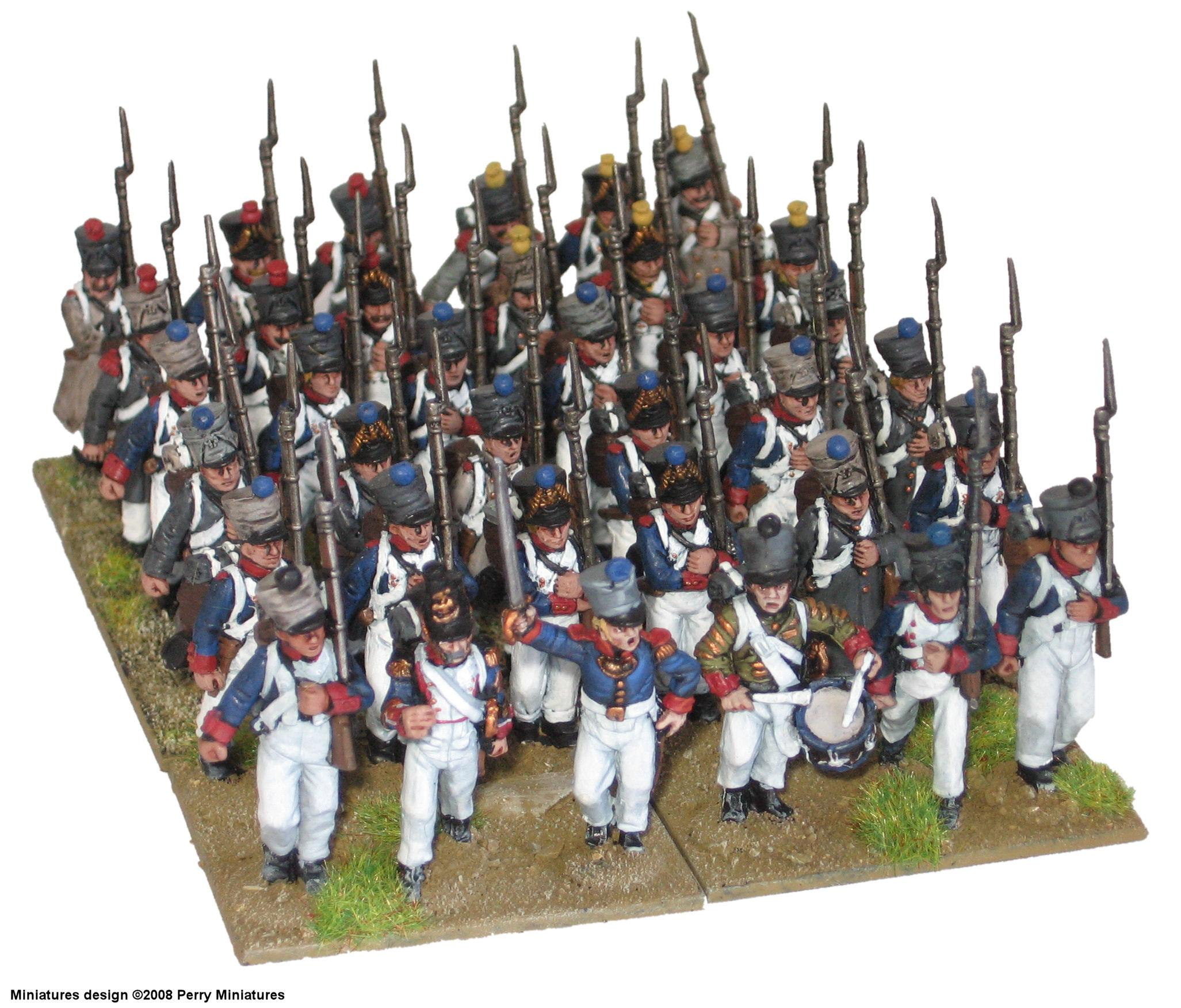 Battalion, French, Historical, Line, Napoleonic, Perry