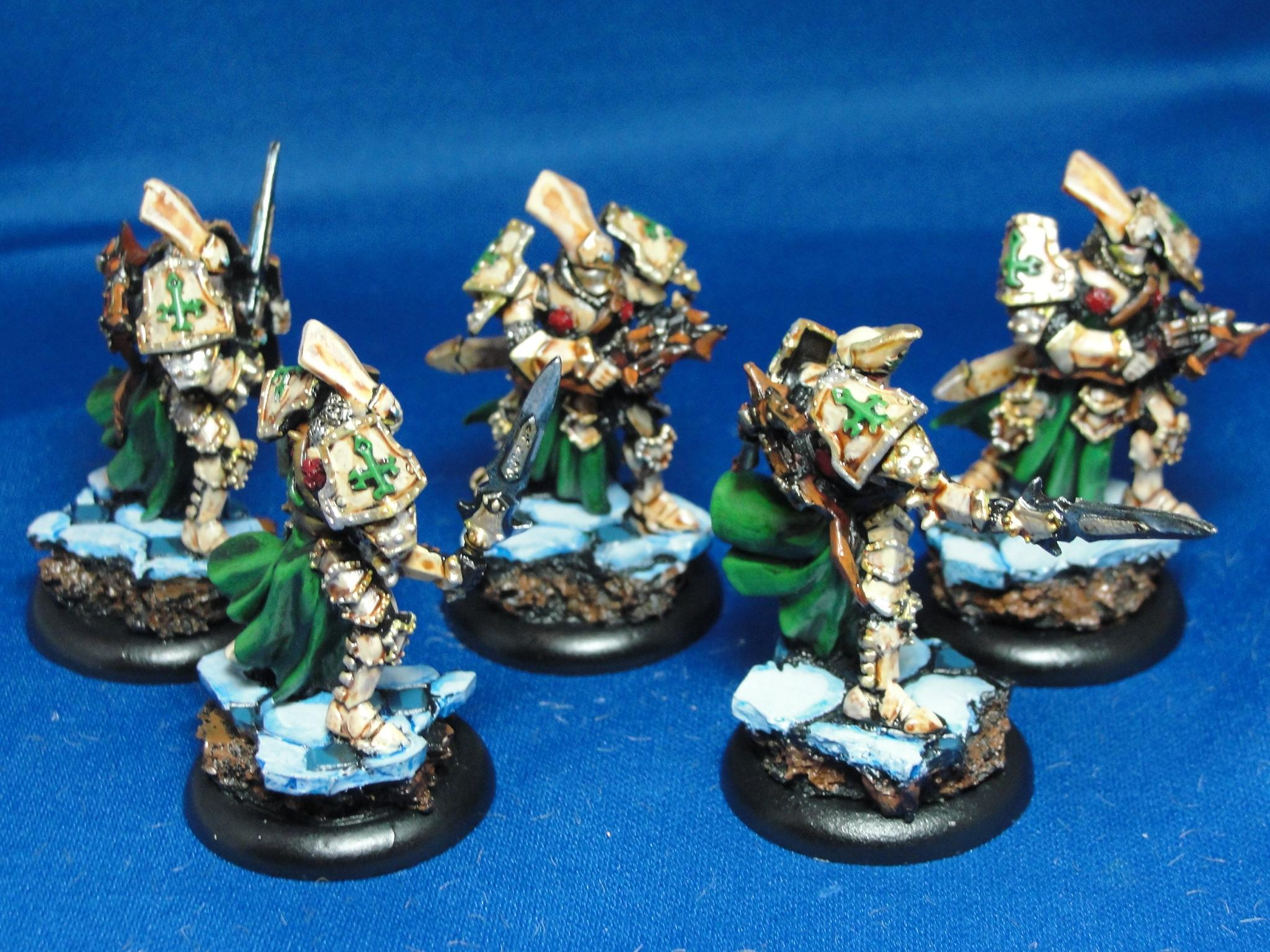 Warmachine, Protectorate of Menoth, Knights Exemplar Errants