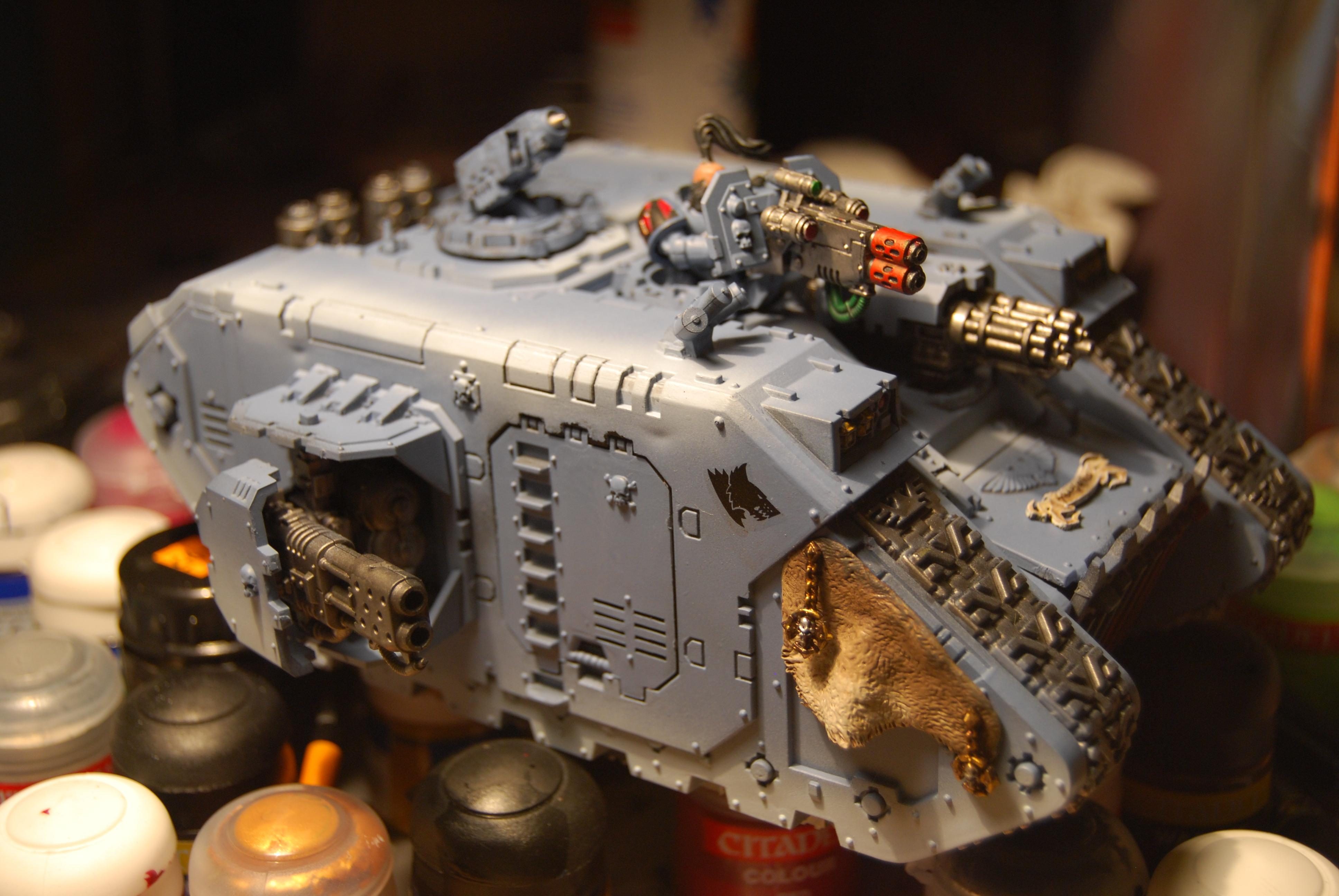 Conversion, Land Raider Redeemer, Space Wolves, Warhammer 40,000