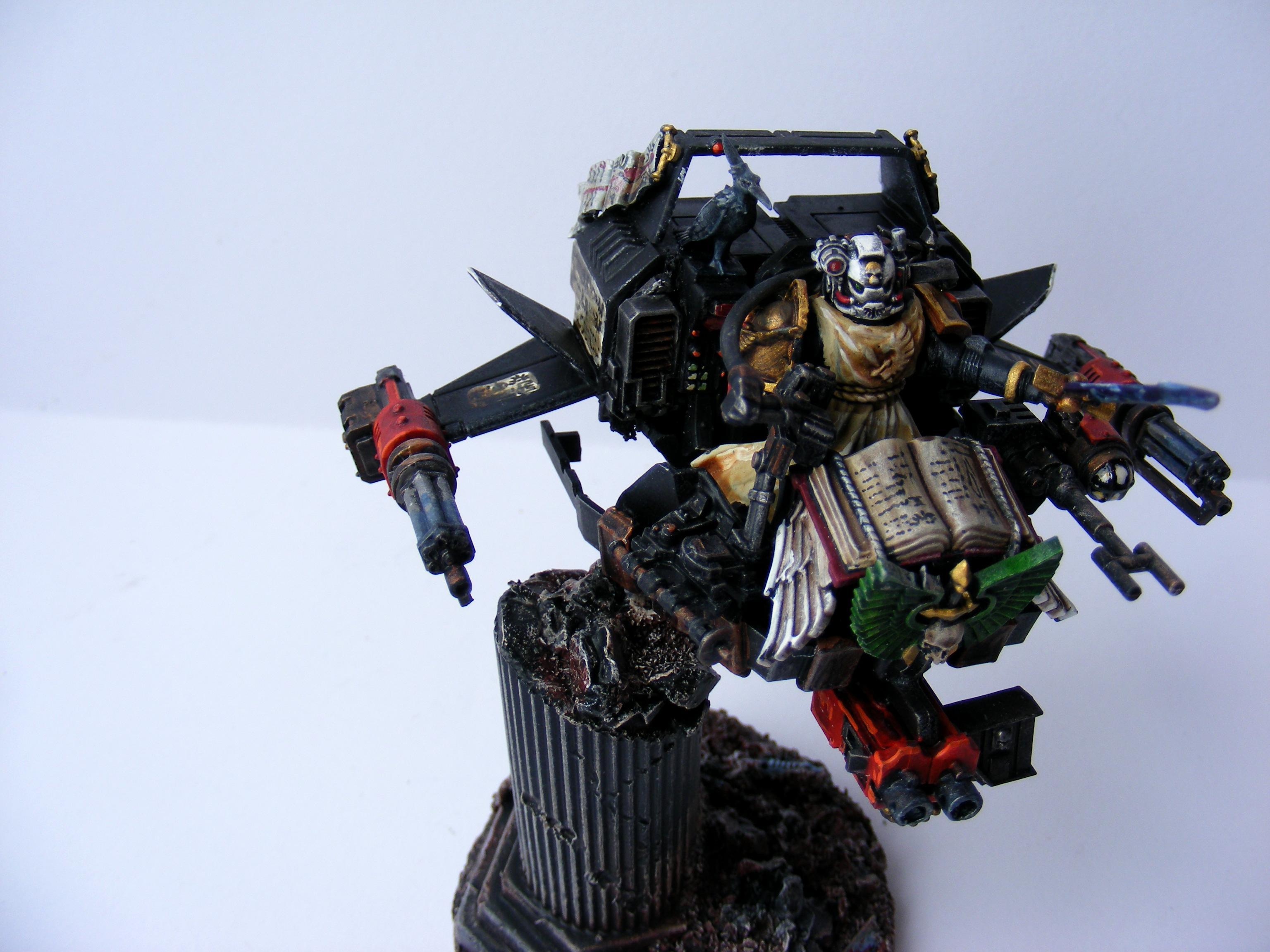 Assault Cannon, Dark Angels, Land Speeder, Painted