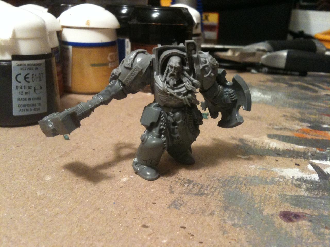 Arjac, Rockfist, Space Wolves