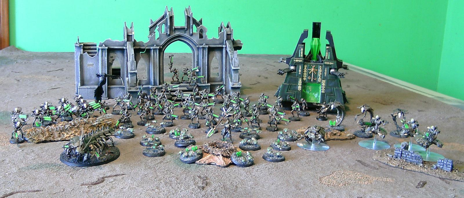 Army Profile, LED, Necrons, Ouze, Tomb Stalker, Warhammer 40,000
