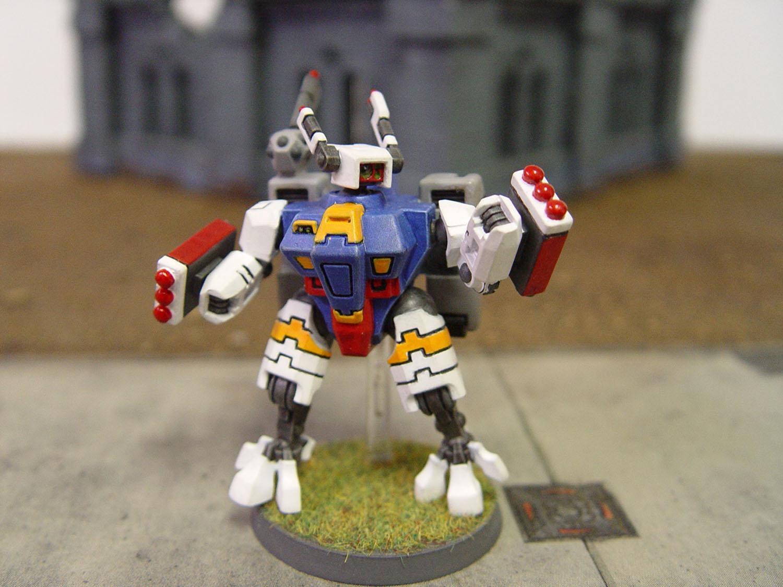 Broadsides, Crisis Battlesuit, Drone, Gun, Gundam, Suit, Tau