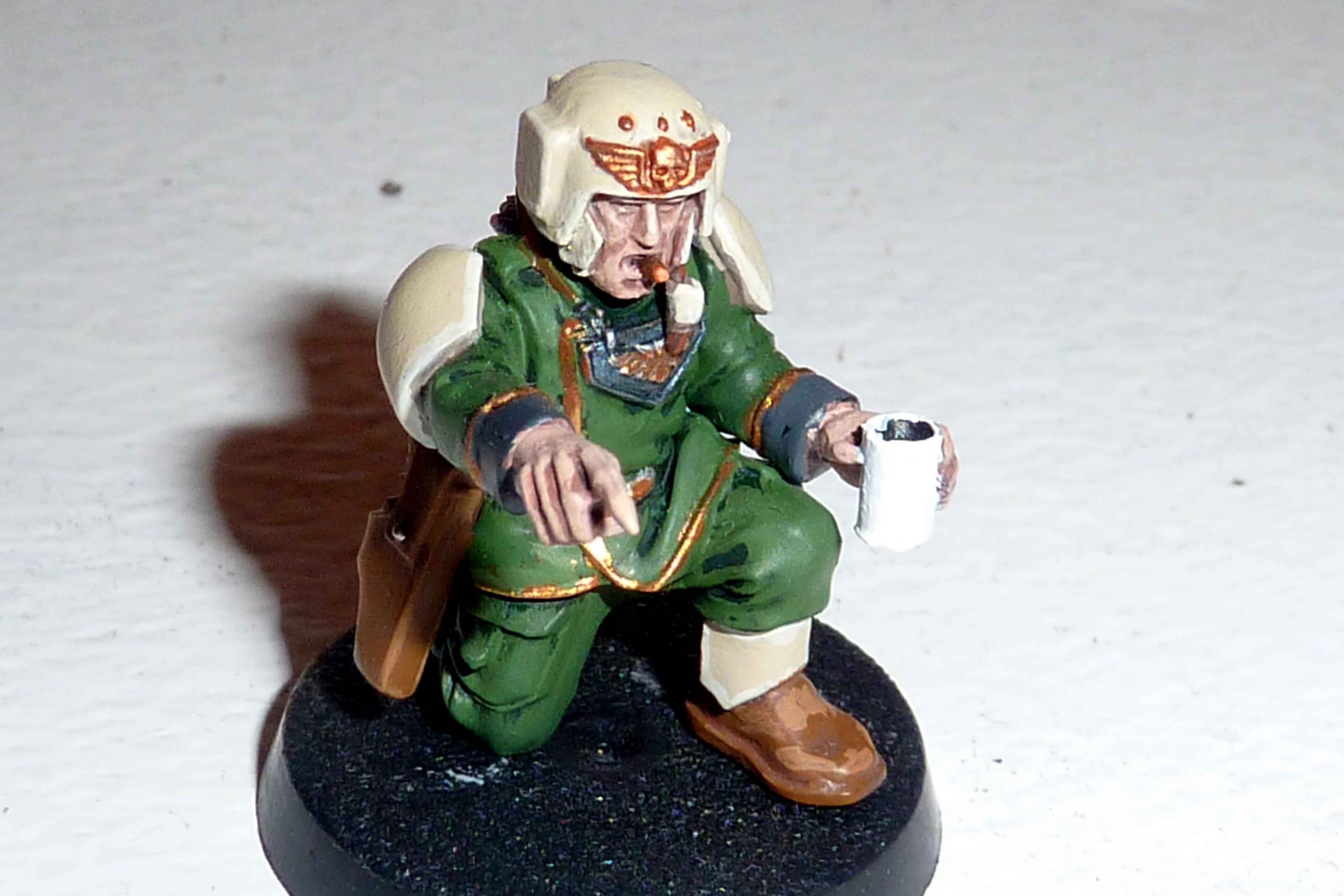 Coffee, Conversion, Imperial Guard, Warhammer 40,000, Work In Progress