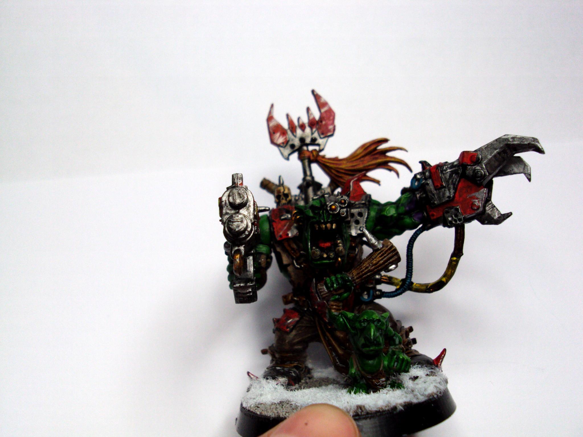 Orks, Power Klaw, warboss