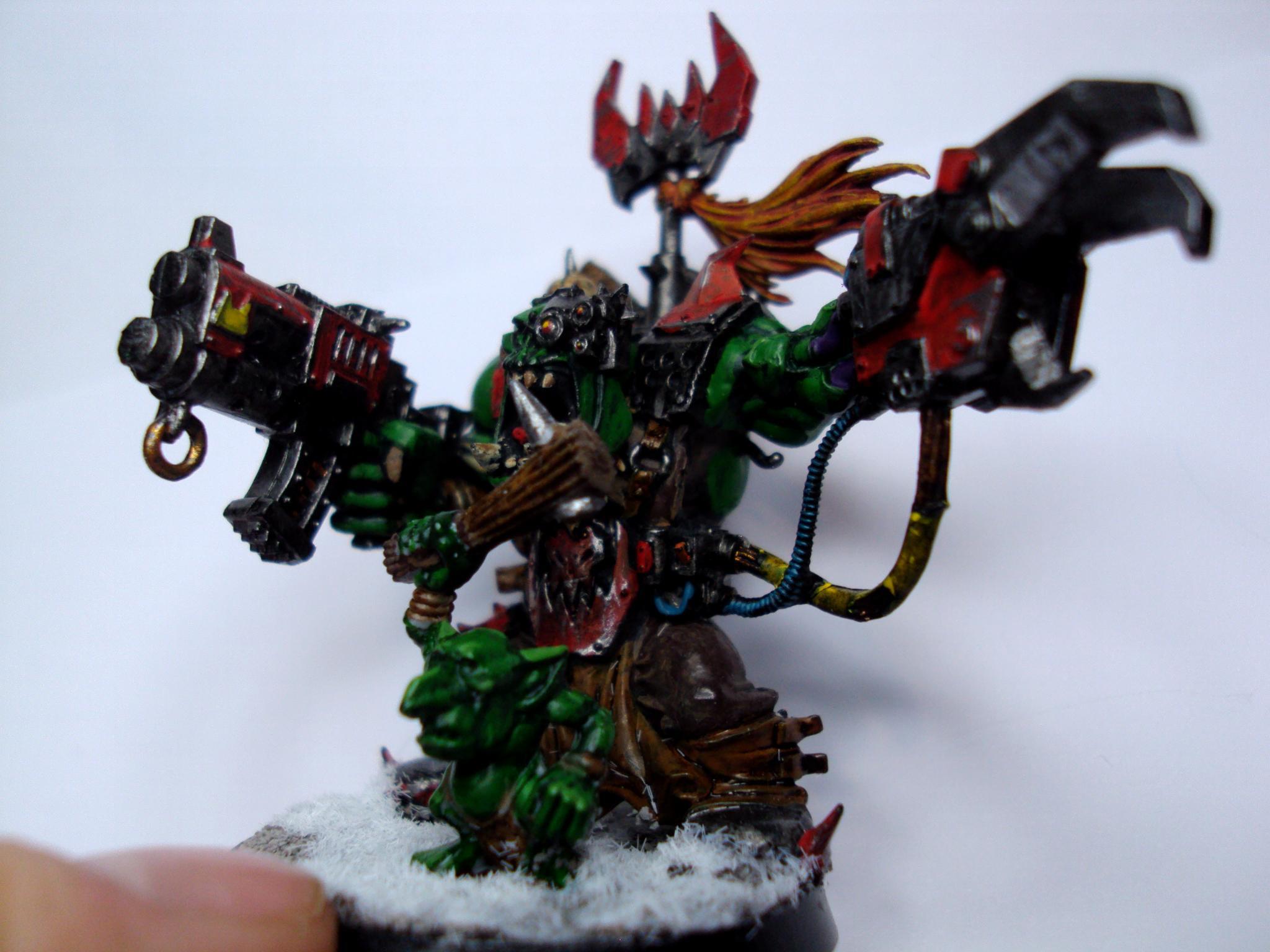 Orks, Side shot of warboss