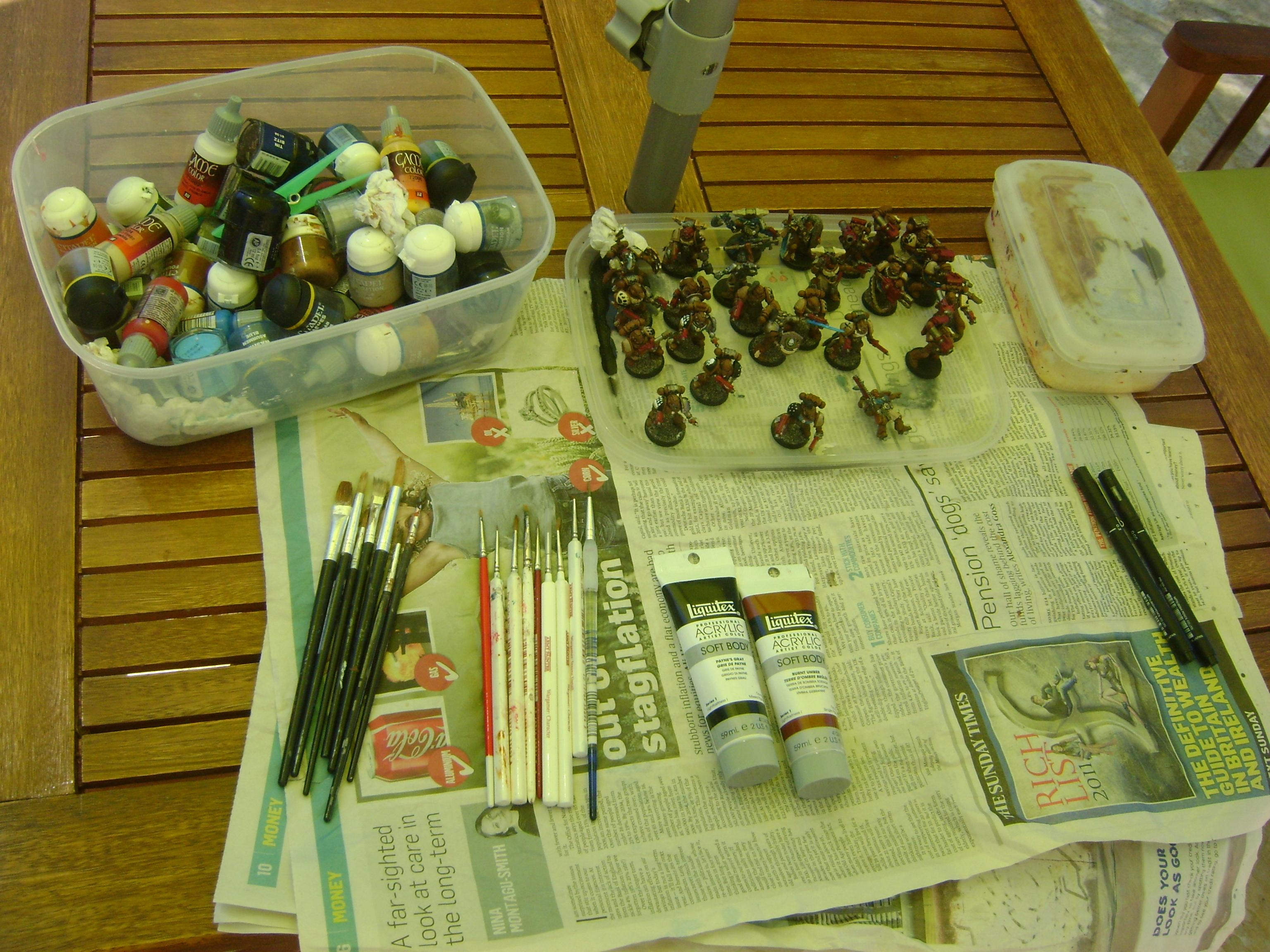 My Painting station