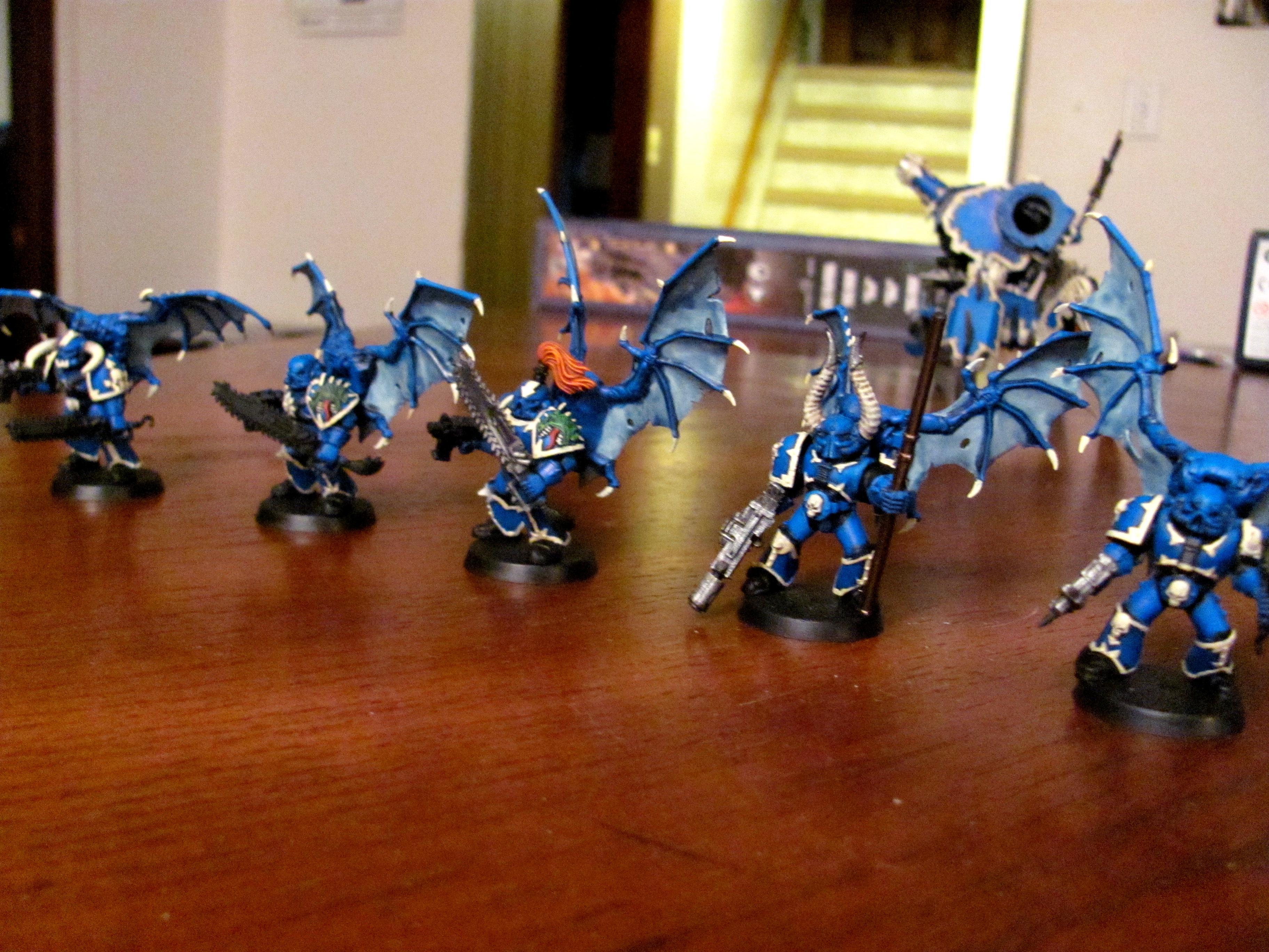Alpha Legion, Chaos, Chaos Space Marines, Hydras Teeth, Raptors
