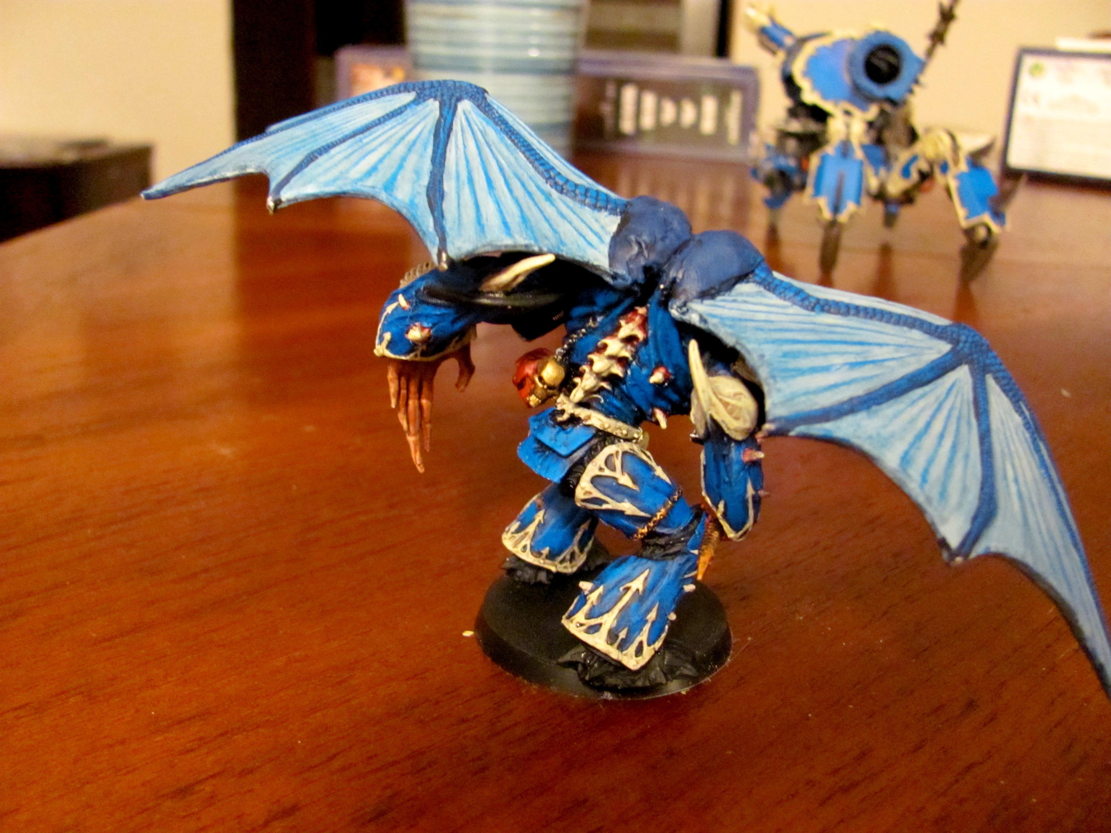 Alpha Legion, Chaos, Chaos Space Marines, Daemon Prince, Hydras Teeth