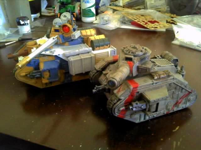 Conversion, Custom, Leman Russ, Pask, Tank, Vanquisher