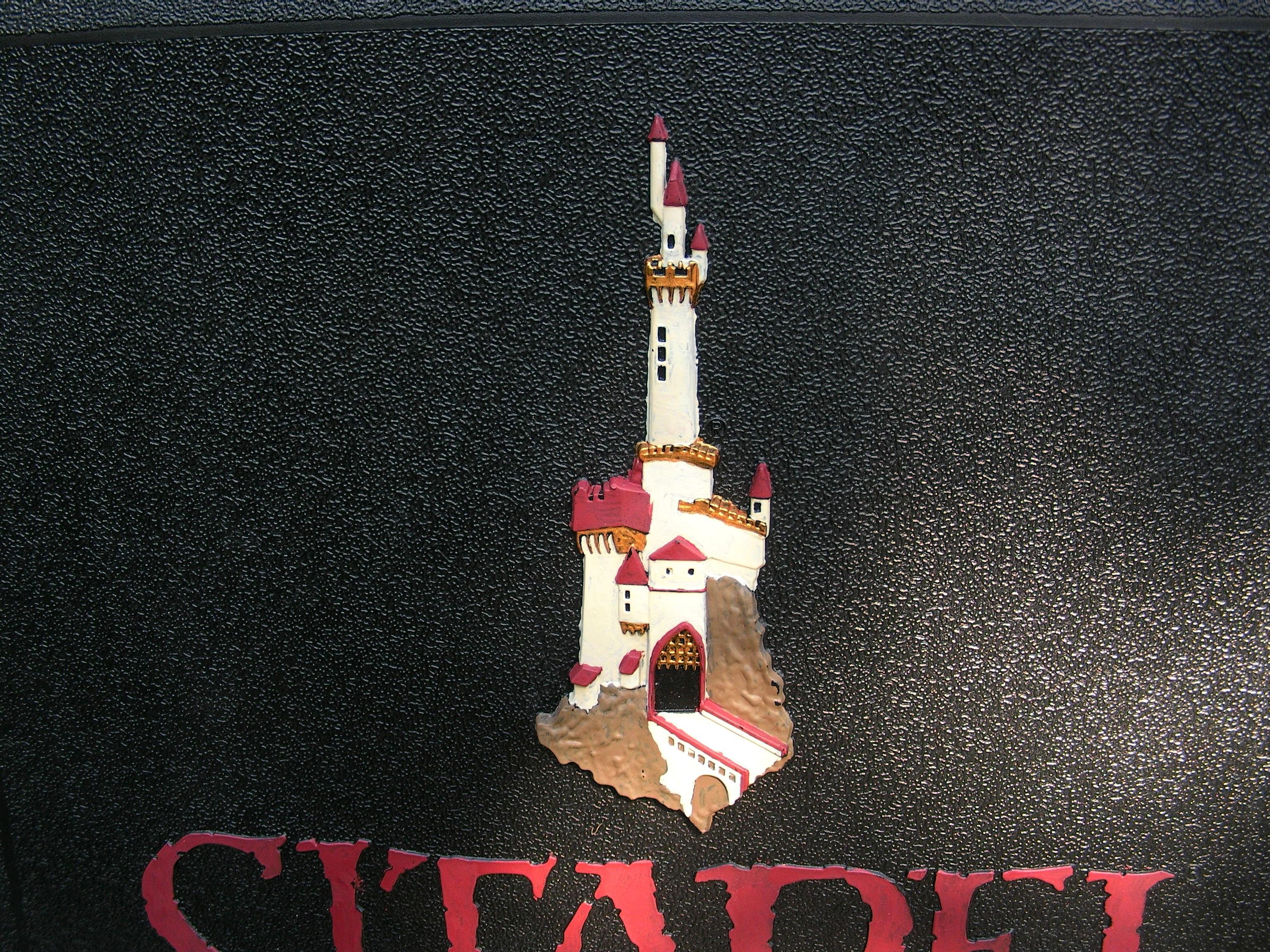 Citadel Logo, Close up of last