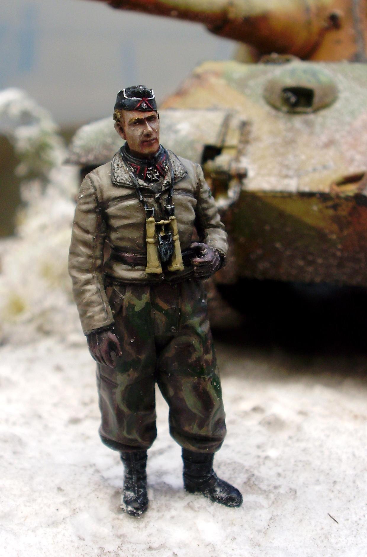 Germans, Snow, Tiger Ii, World War 2