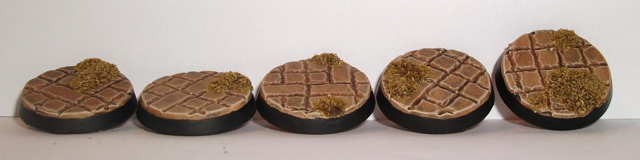 25mm, Base, Brick, Round