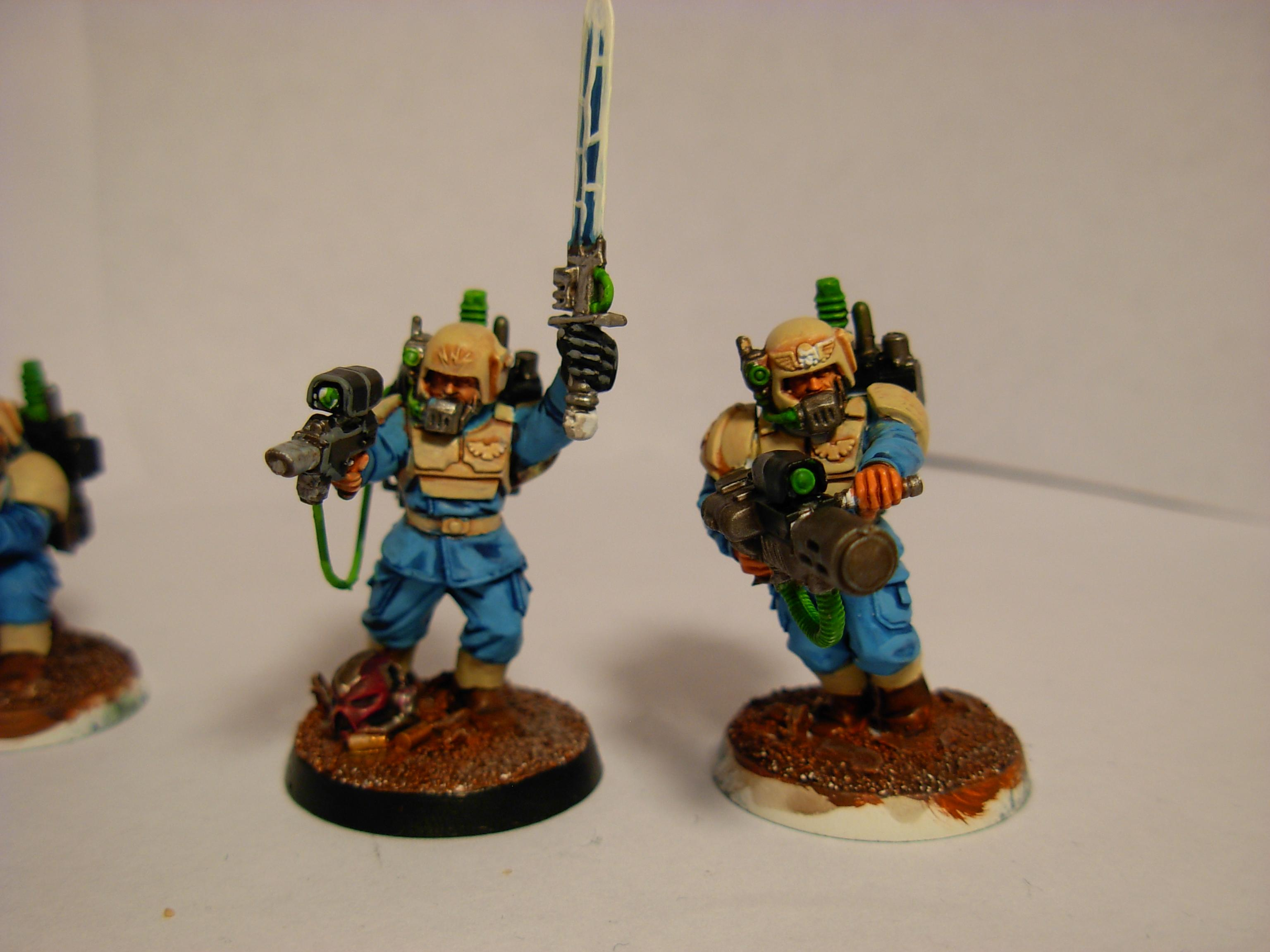 Sergeant and Melta, both close to done
