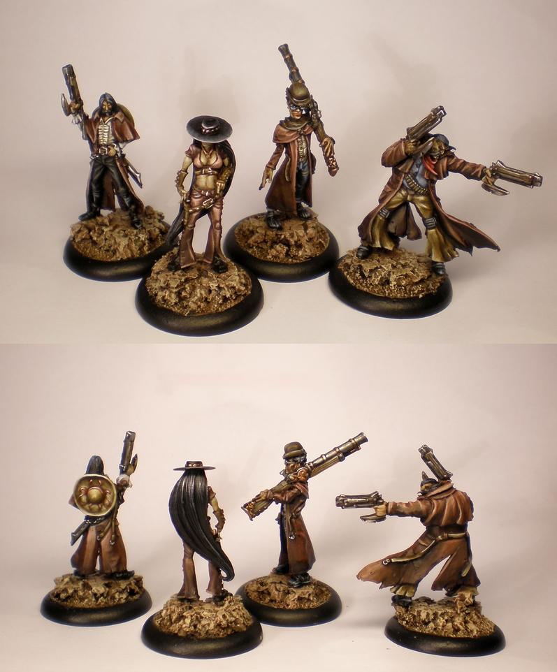Austringer, Base, Commission, Guild, Malifaux, Ortega, Skirmish, Wild West, Witchling Stalker, Wyrd