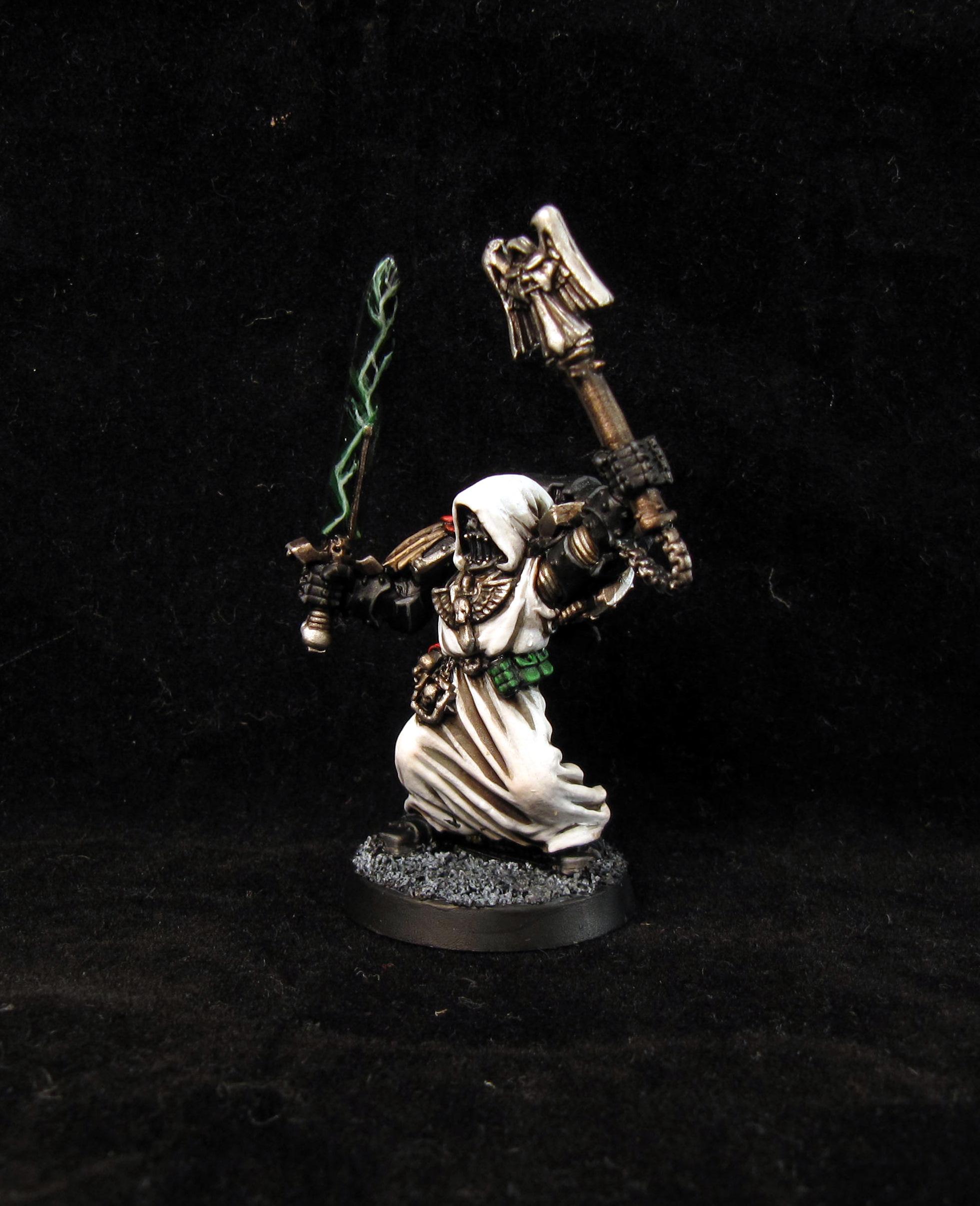 Chaplain, Dark Angels, Space Marines