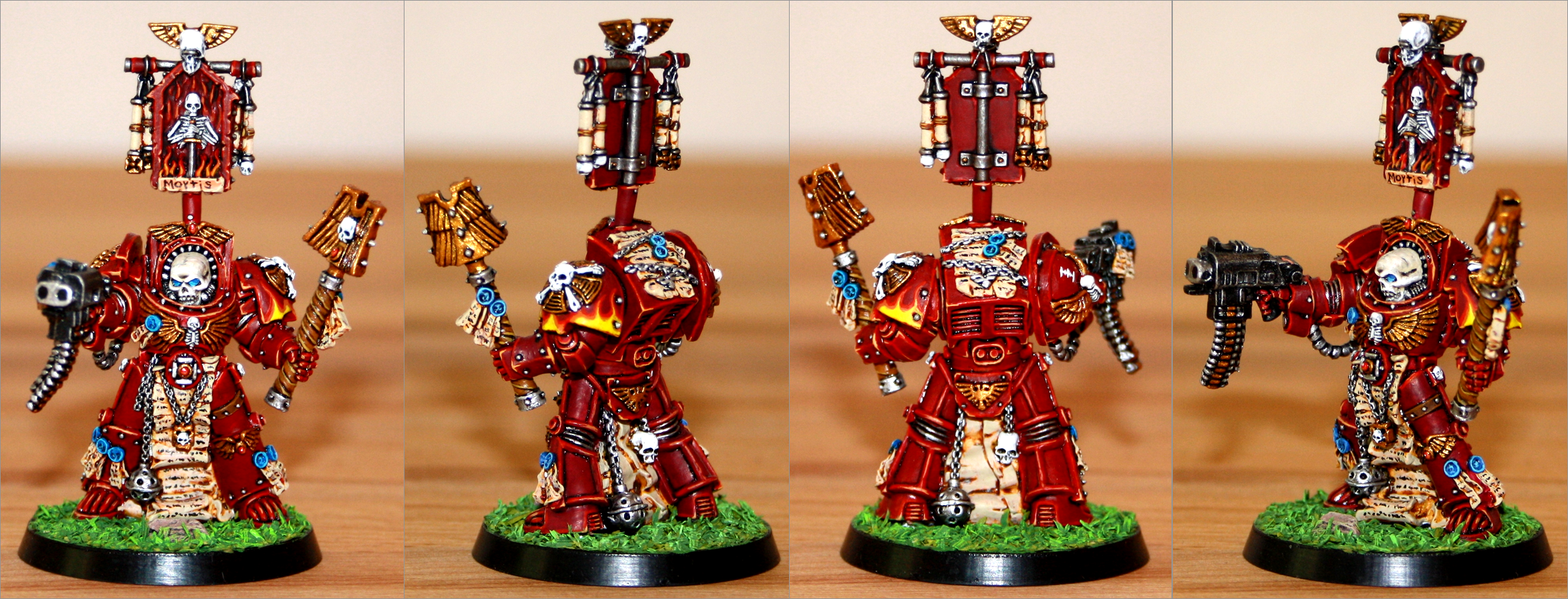 Chaplain, Inquisition, Red Hunters, Space Marines, Terminator Armor