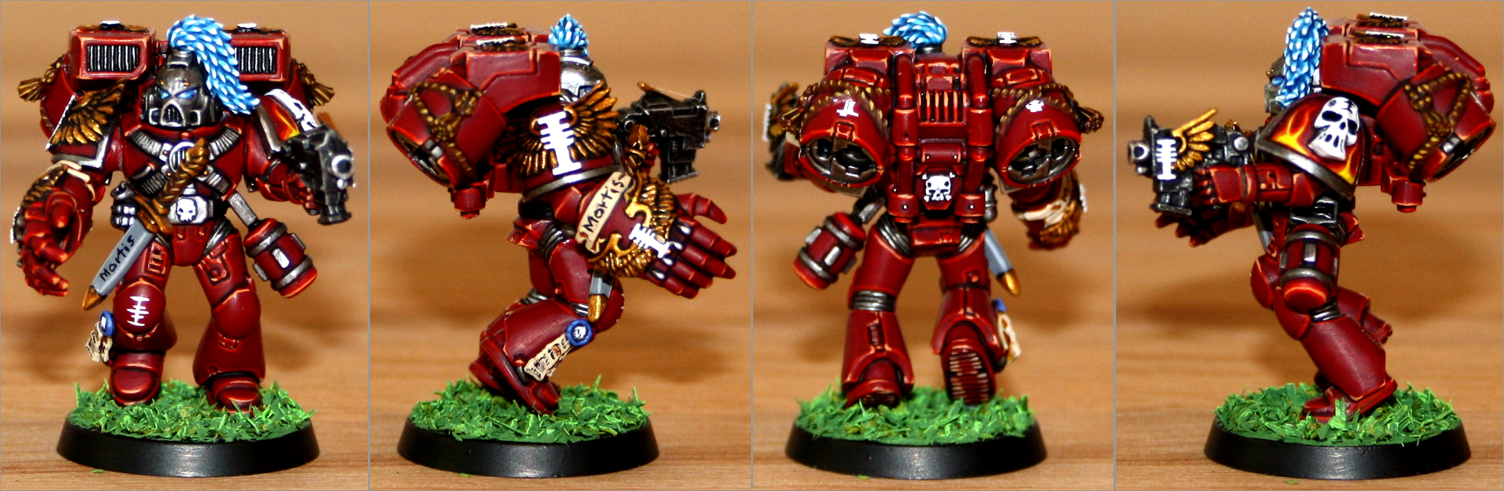 Assault, Inquisition, Red Hunters, Sergeant, Space Marines