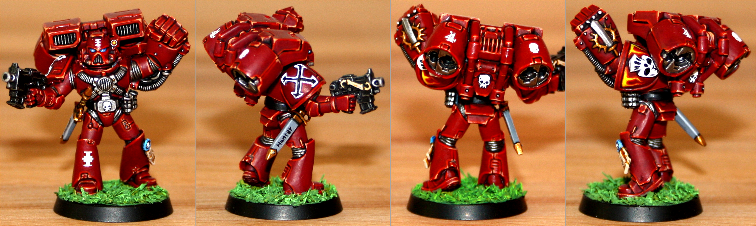 Assault, Inquisition, Red Hunters, Space Marines