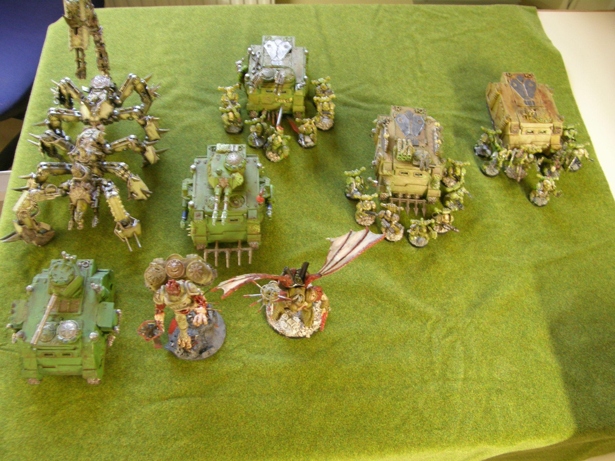 Daemon Prince, Death Guard, Defiler, Dp, Nurgle