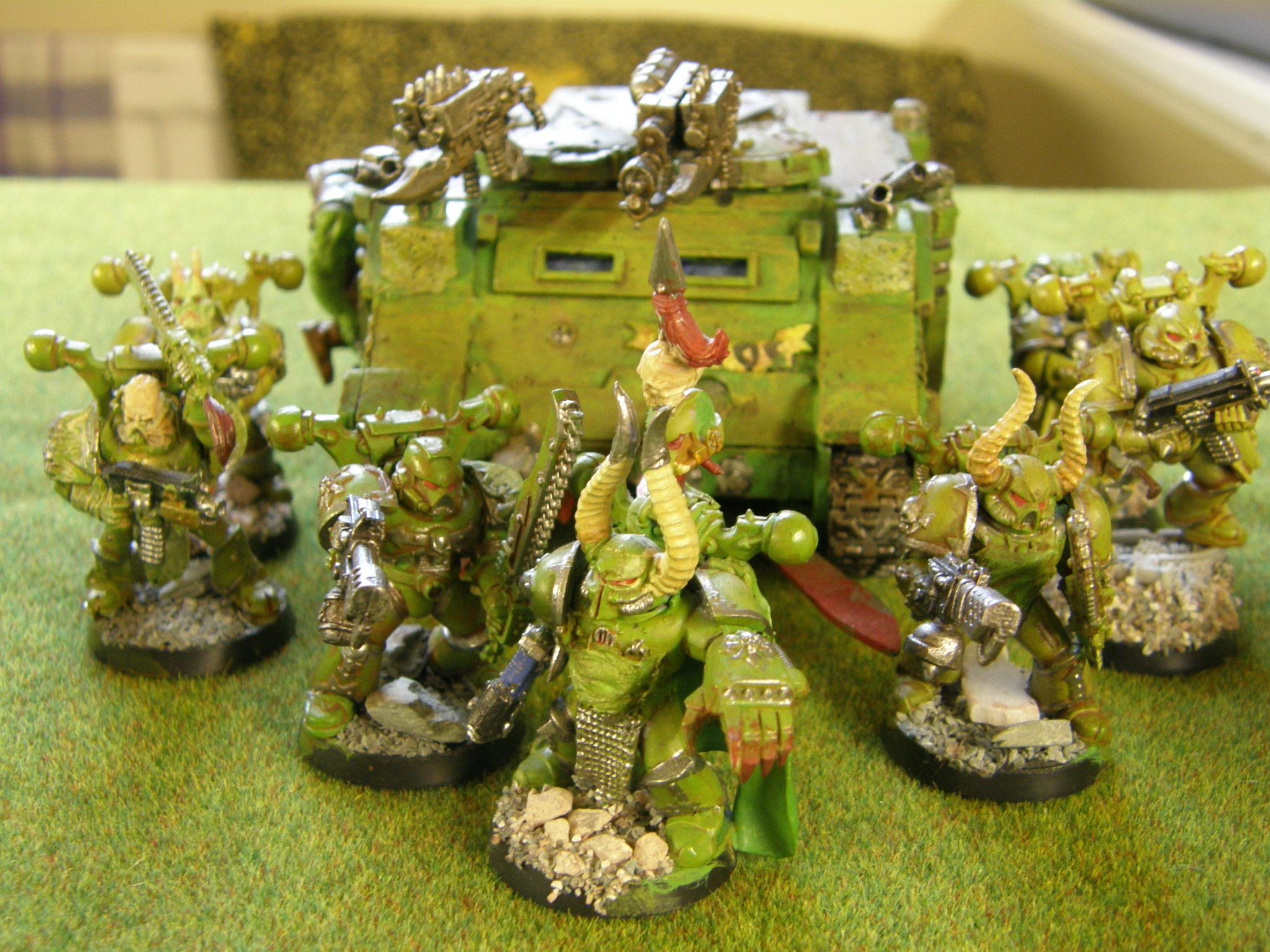 Death Guard, Nurgle, nurgle troops 3