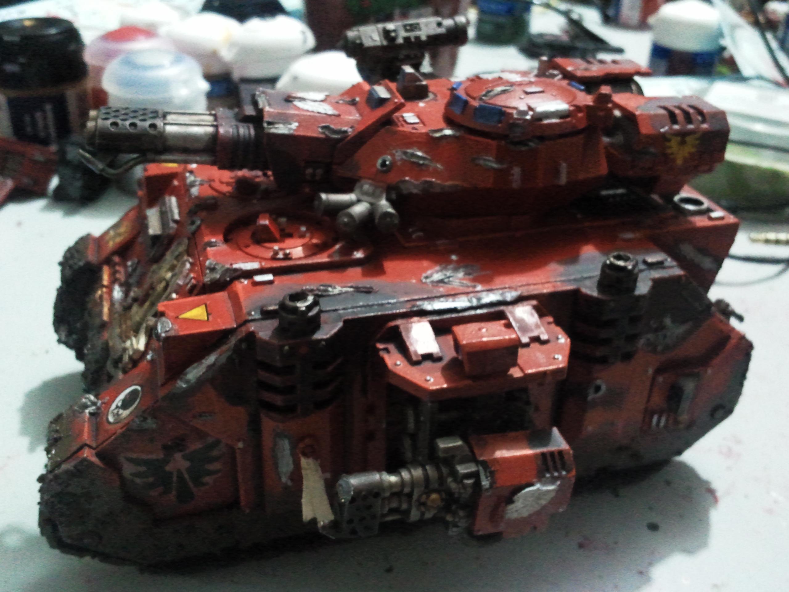 Baal Predator, Blood Angels, LED, Tank, Warhammer 40,000