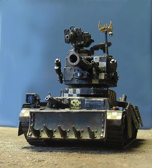 Ork Tank, Ork Kitbashed tank