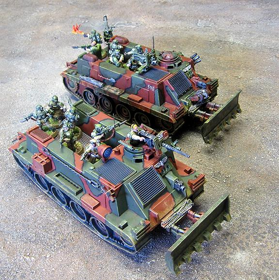 Apc, Catachan, Imperial Guard, Toy