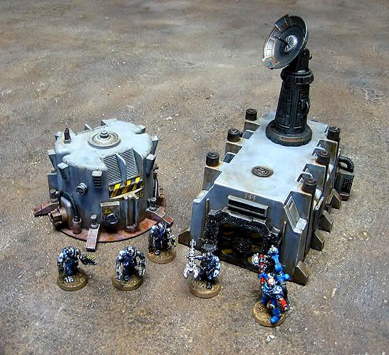 Bunker, Radar, Scratch Build, Terrain