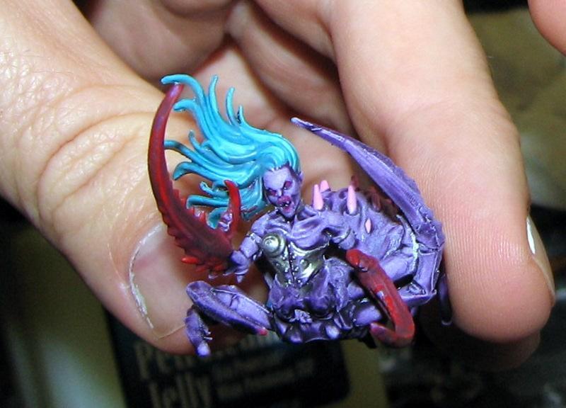 Converted Fiends of Slaanesh - Purple