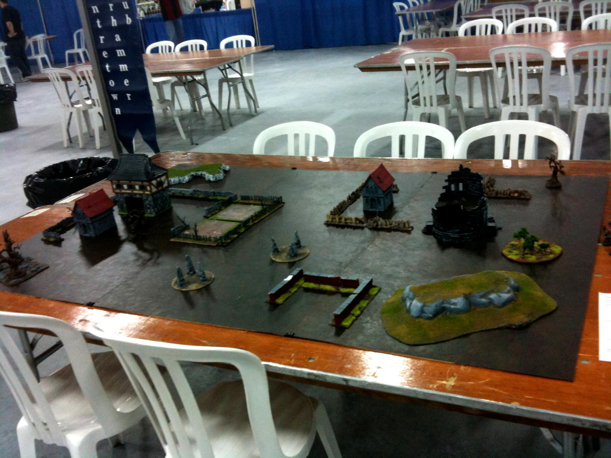 Cangames, Game Table, Terrain