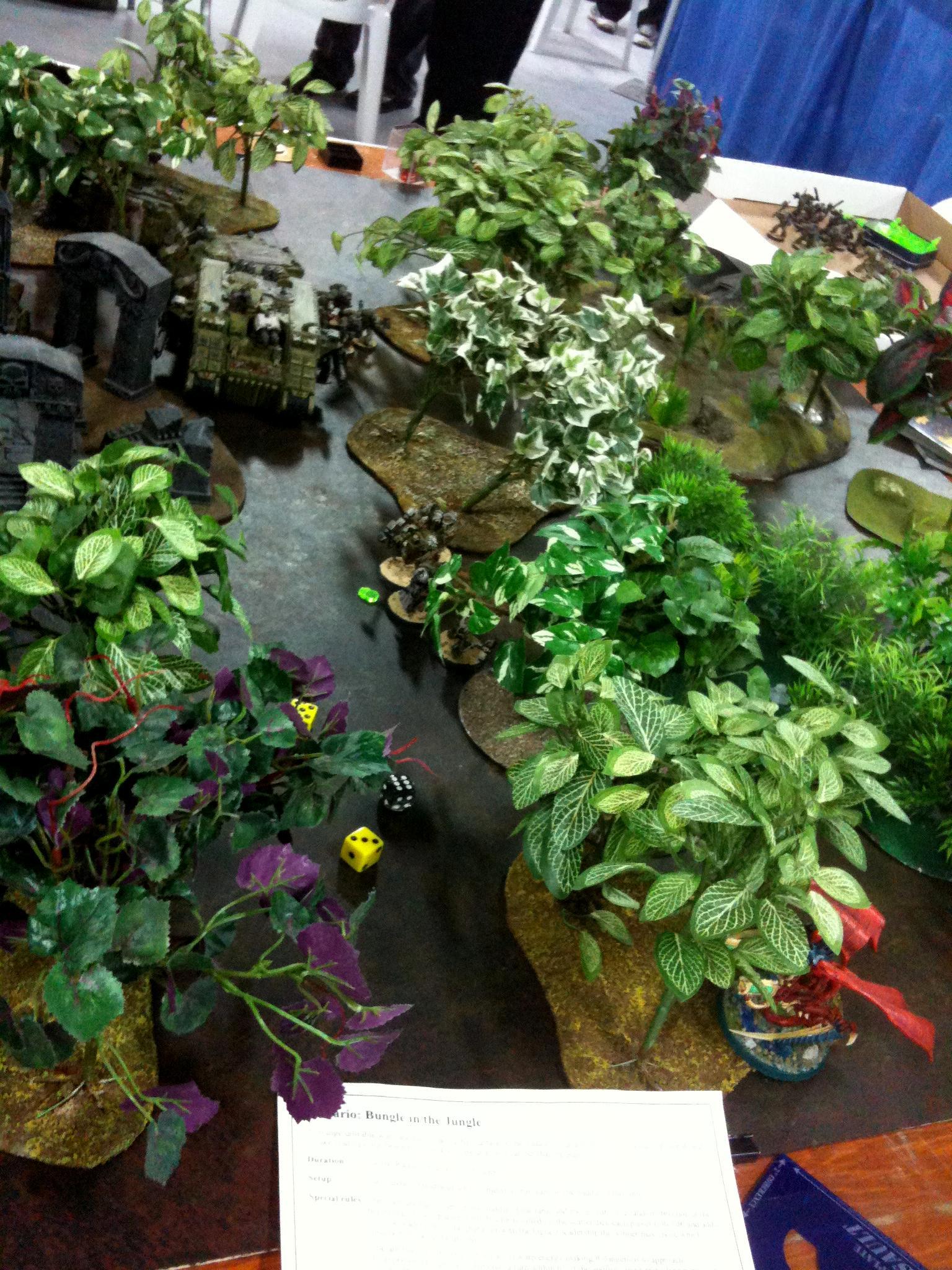 Jungle, Space Marines, Tyranids