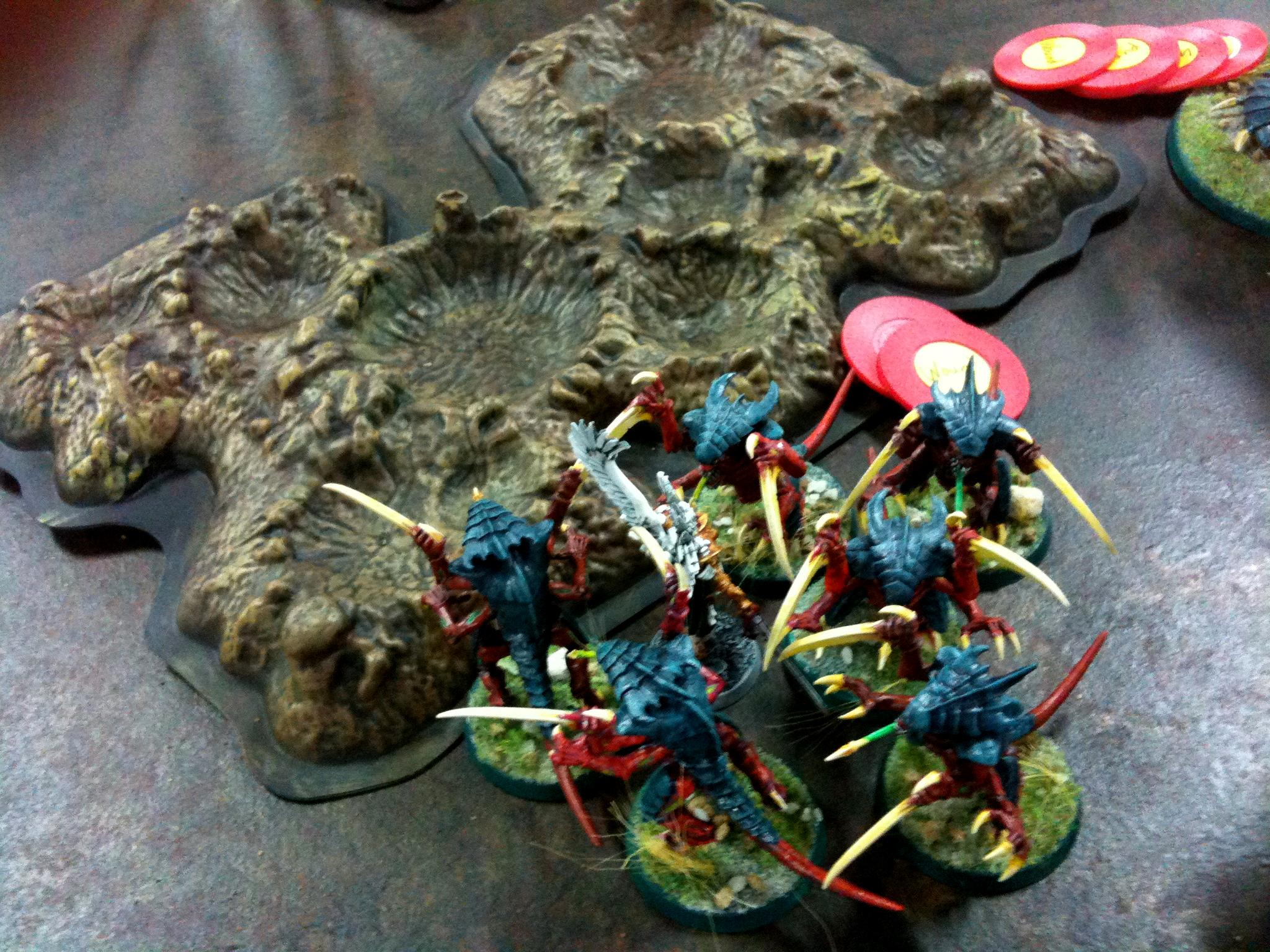 Bastion, Sisters Of Battle, Tyranids, Witchhunters