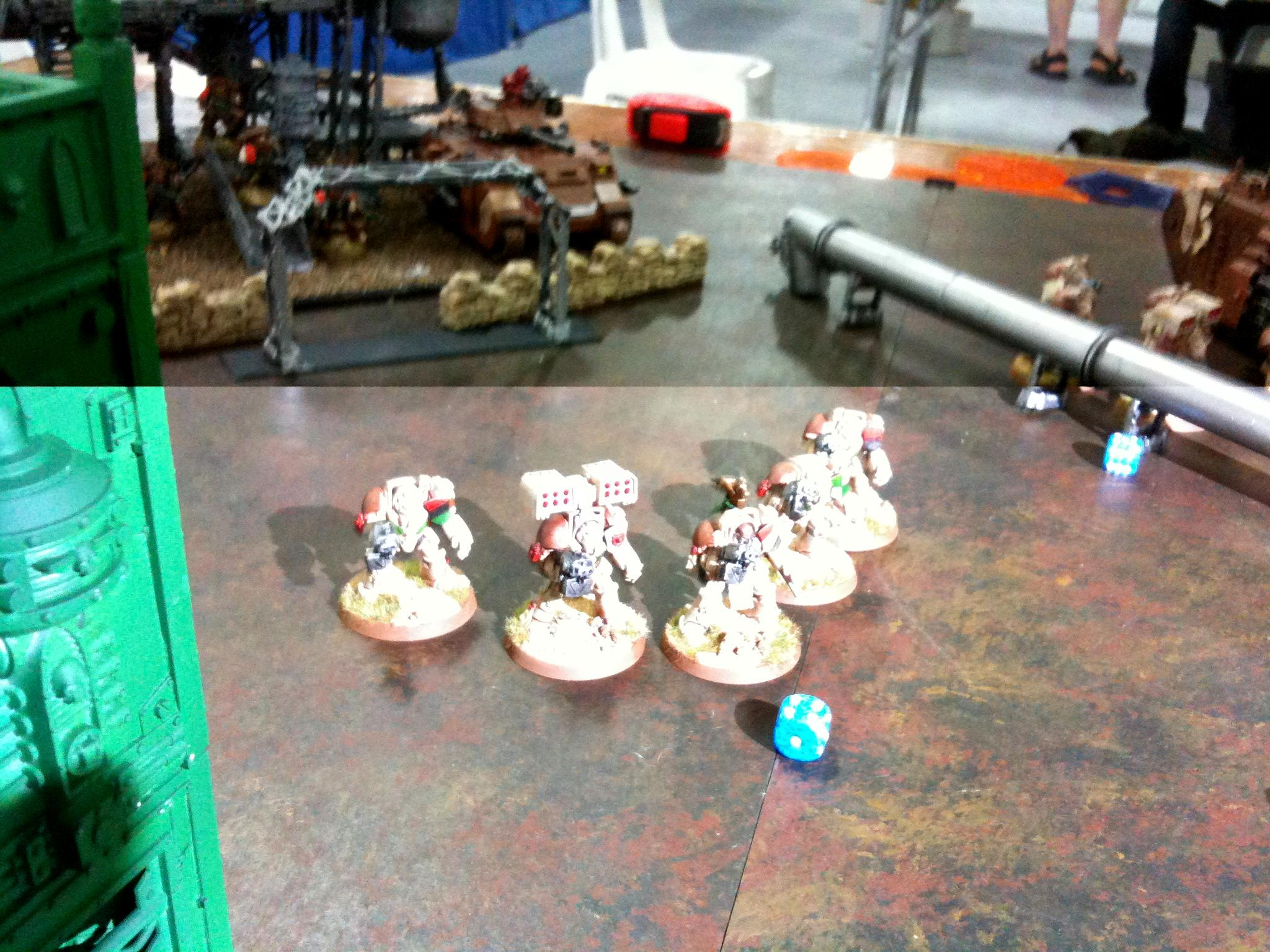 Deathwing, Fuel Depot, Pipeline, Refinery, Terminator Armor, Tyranids