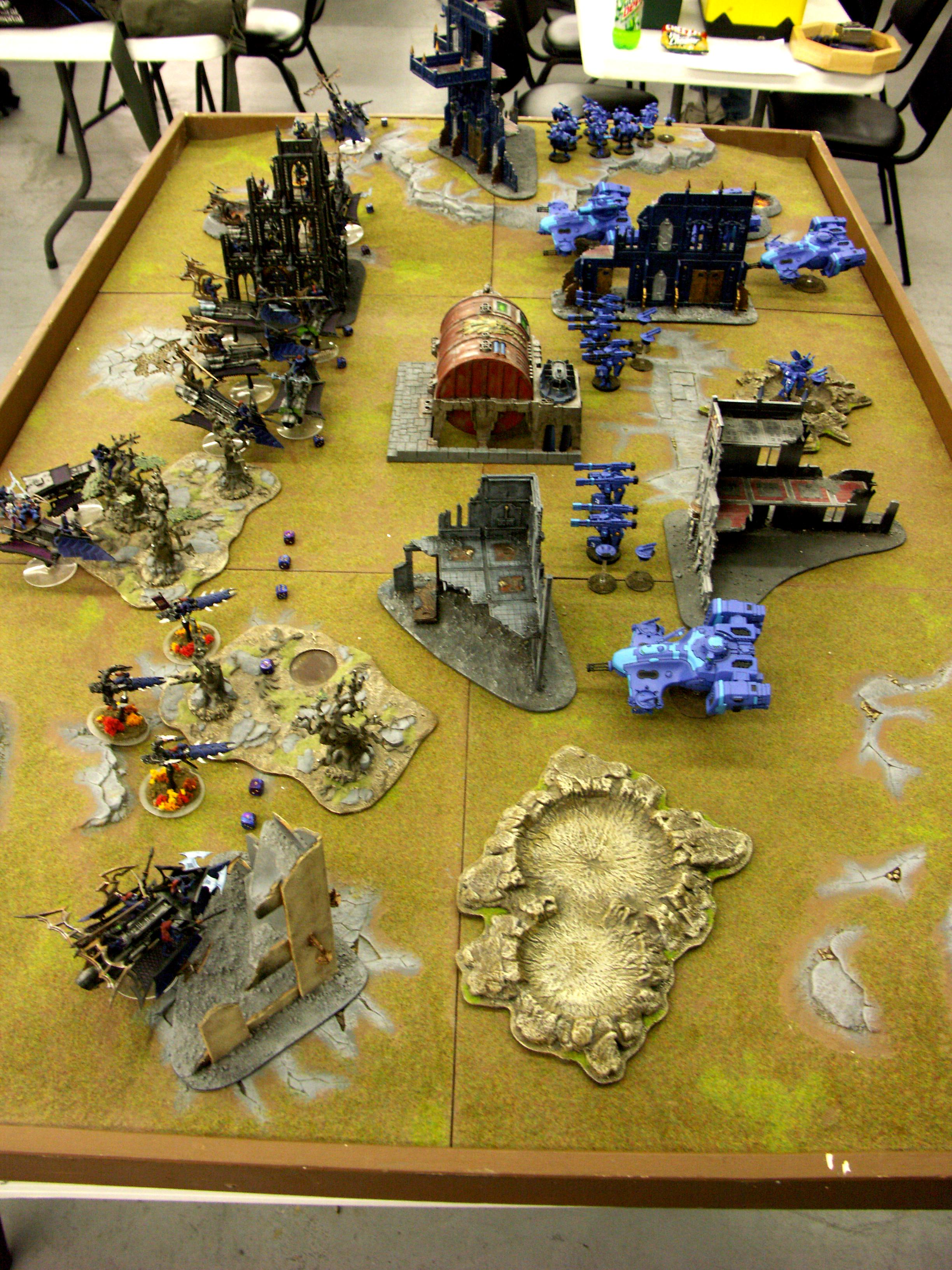 Battle, Battle Report, Dark, Eldar, Report, Tau