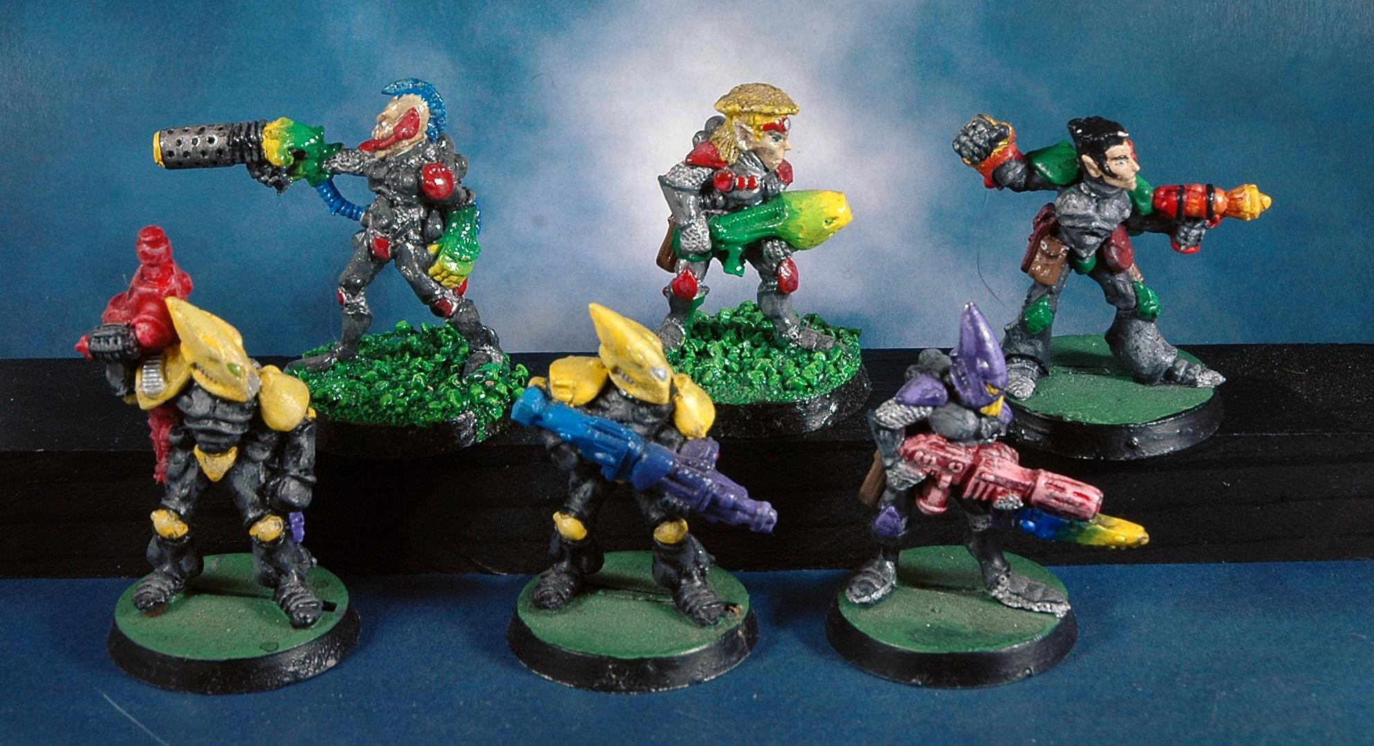 Corsairs, Eldar, Rt, Warhammer 40,000