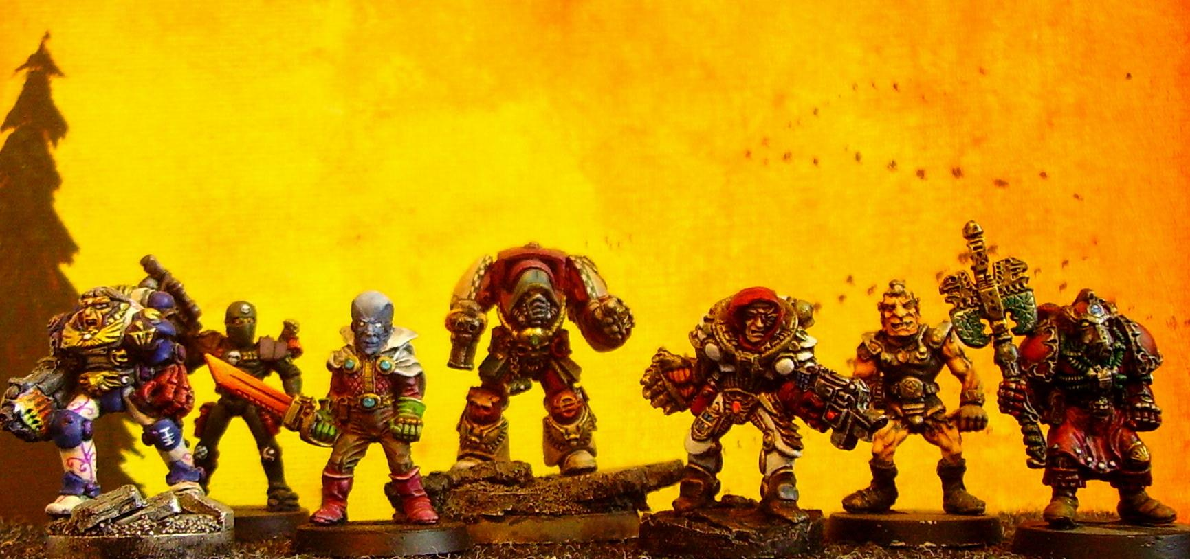 Imperial, Inquisitor, Retinue, Rogue Trader