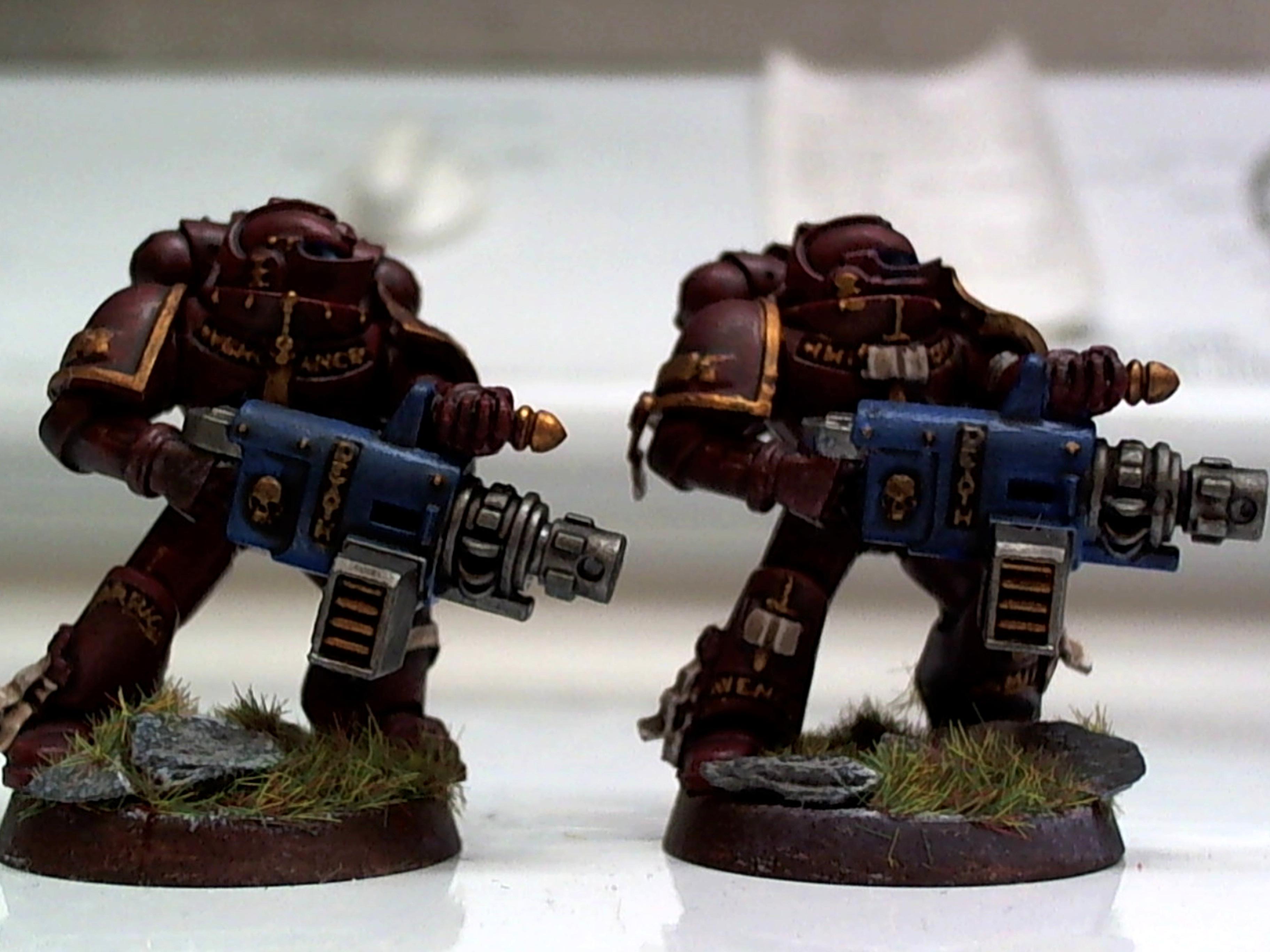 Exorcists, Grey Knights, Marine Heavy Bolter