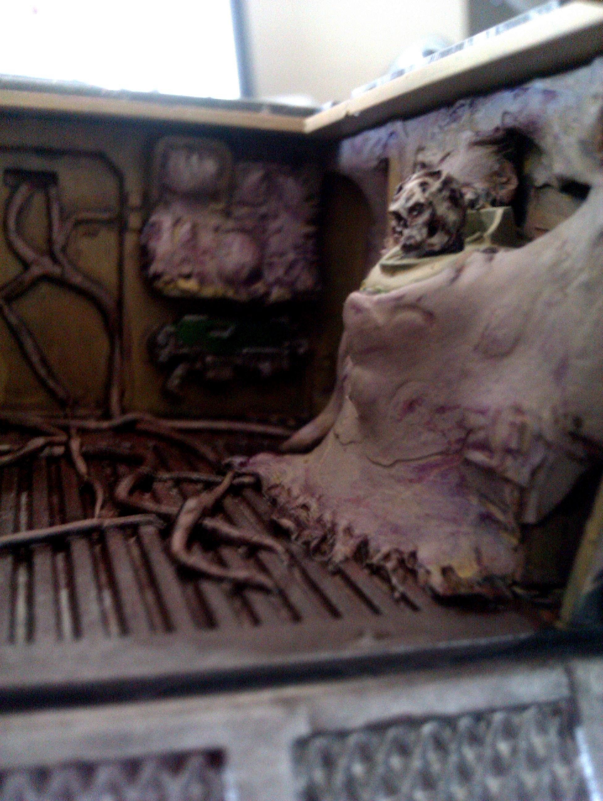 Chaos, Inside, Interior, Nurgle, Rhino, Space, Space Marines
