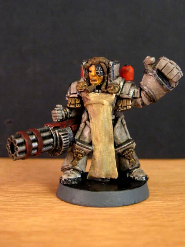 Assault Cannon, Power Armour, Urban Mammoth