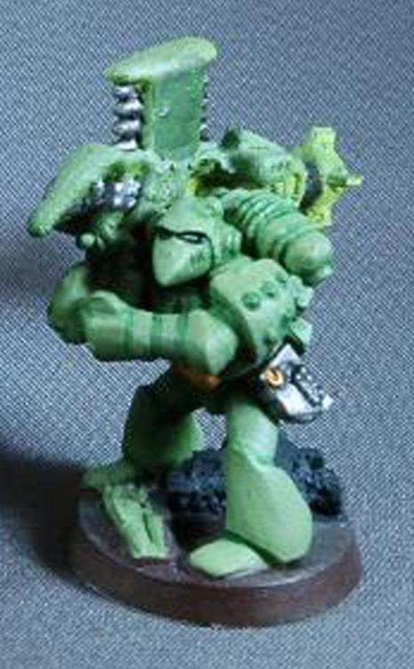 Mantis Warriors, Missile Launcher, Rt, Space Marines, Warhammer 40,000, Work In Progress
