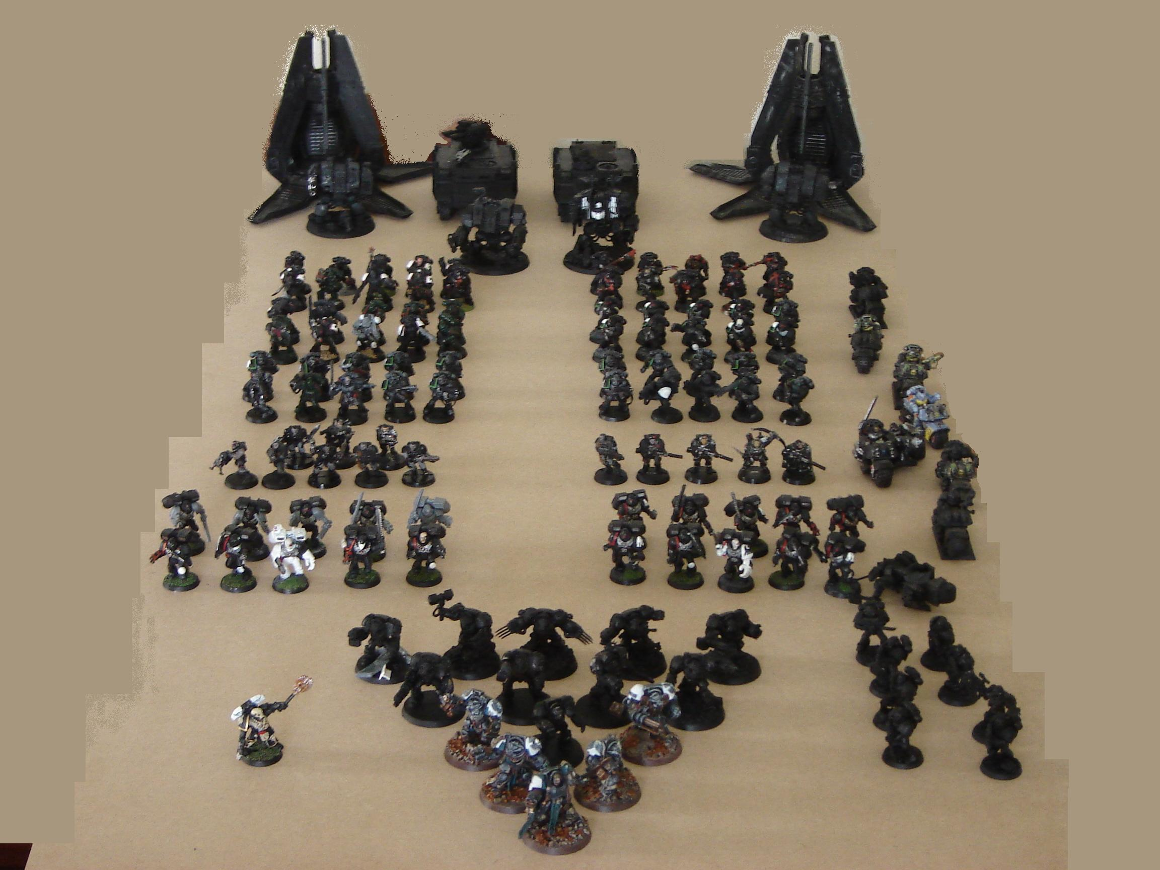 Raven Guard Shadow Company WIP