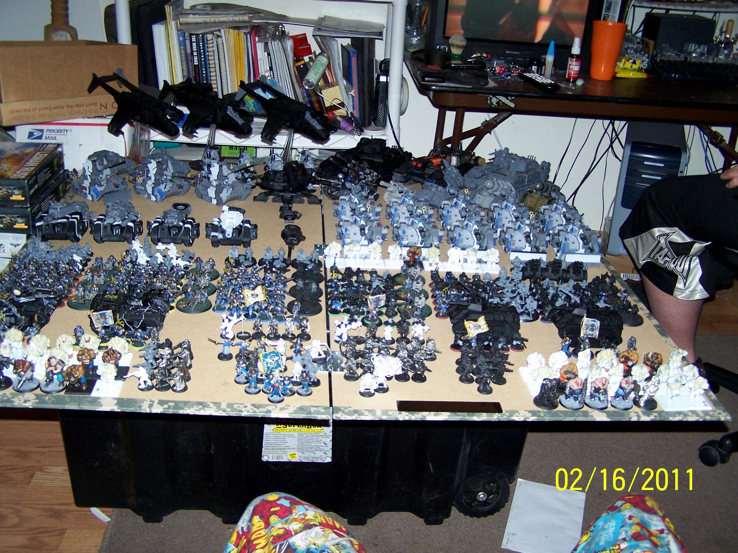 Imperial Guard, Work In Progress