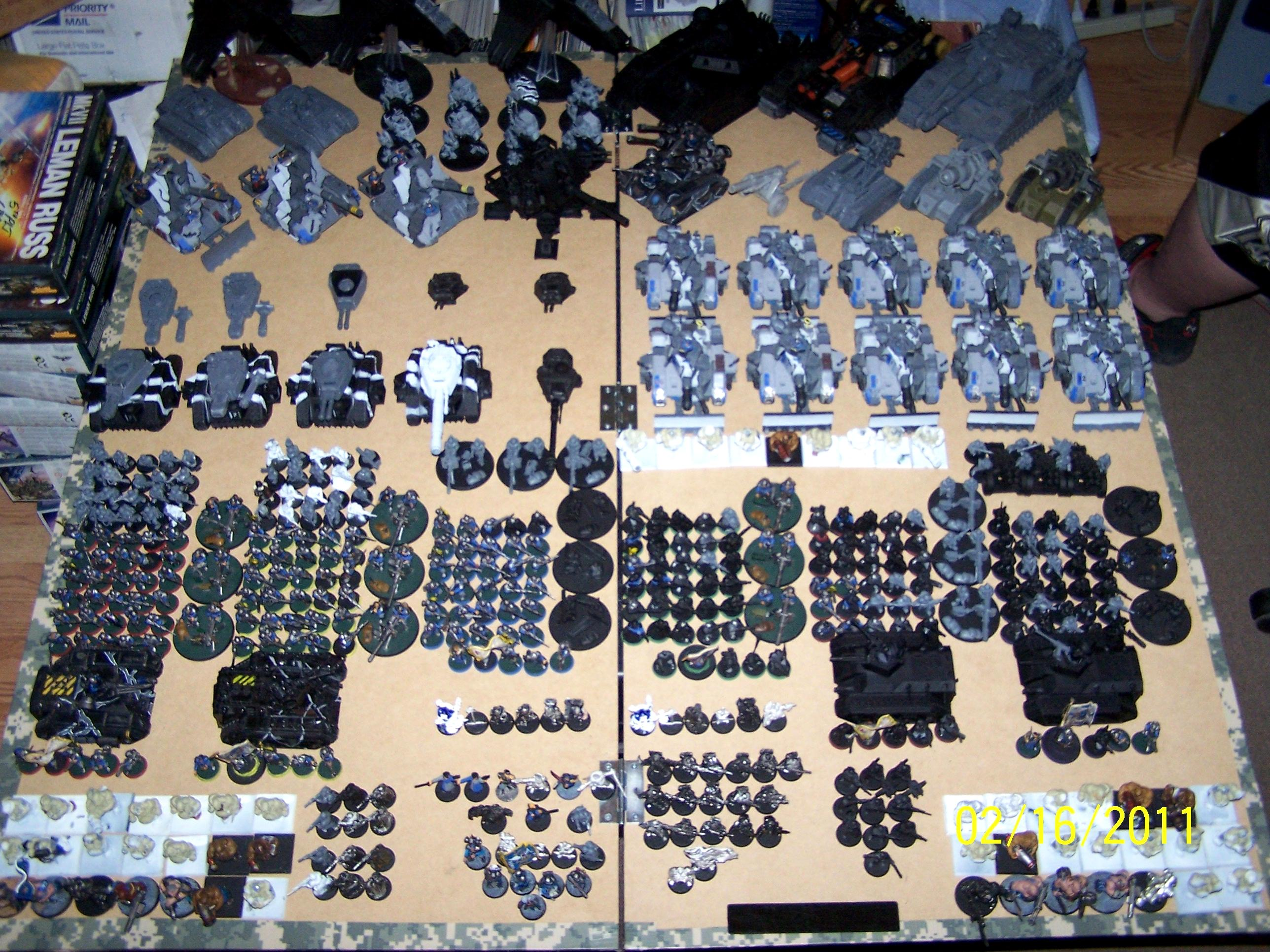 Apocalypse, Army, Imperial Guard, Work In Progress