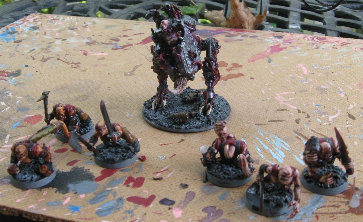 Chaos Daemons, Daemon Prince, Daemons, Harrowed, Nurgle, Plaguebearers