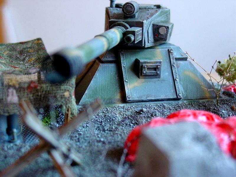 Imperial Turret, Imperial turret